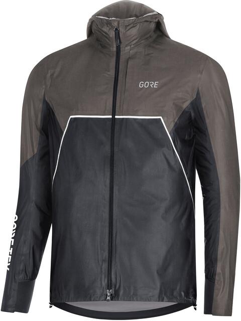 GORE WEAR R7 Gore-Tex Shakedry Trail Løbejakke Herrer grå/sort